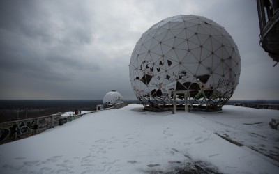 NSA Spy Station Teufelsberg (video)