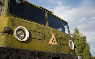Vehicles of the Exclusion Zone (video)