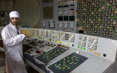 Inside Chernobyl Nuclear Power Plant