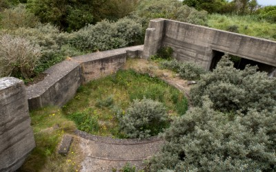 Spurn Point Gun Battery